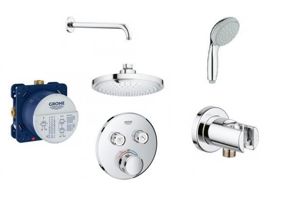 Набор смесителей для ванны скрытого монтажа Grohe SmartControl 34614SC0