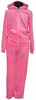 Розовый велюровый костюм , фото 1
