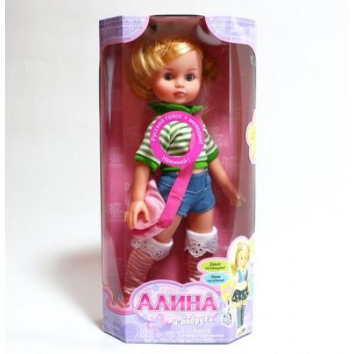 Кукла АЛИНА интерактивная