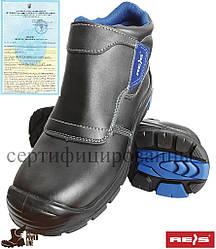 Ботинки рабочие кожаные с композитным подноском для сварочных работ REIS Польша (спецобувь) BCH-DREZNO-S3