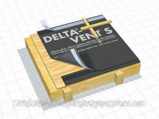 Гидроизоляционная диффузионная мембрана DELTA-VENT S PLUS