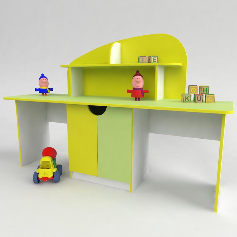 Дитячий розвиваючий стіл З Мальвіна від виробника