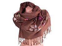 Шарф ETERNO Женский шерстяной шарф 166 на 63 см ETERNO (ЭТЕРНО) ES0206-7-brown-Y2
