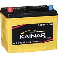 Аккумулятор KAINAR Asia 75Ah, левый (+)