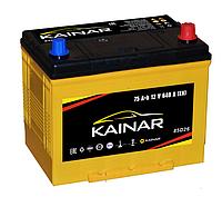 Аккумулятор KAINAR Asia 75Ah, правый (+)