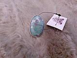 Рубин в фуксите кольцо с камнем рубин в фуксите. Природный рубин в серебре 17,5-18 размер Индия!, фото 4