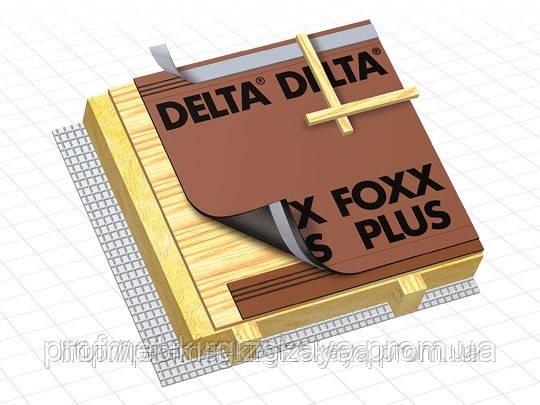 Гидроизоляционная диффузионная мембрана DELTA-FOXX PLUS - ПрофМет - Мир Кровельных материалов в Харькове