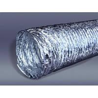 Гнучкий повітропровід неізольований неметалевий, 100 мм