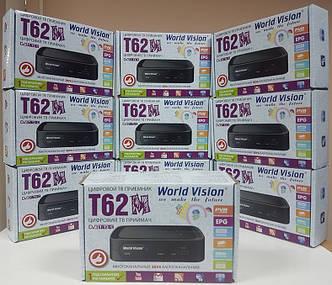 Цифровой эфирный DVB-T2 ресивер приемник приставка Т2 World Vision T62M