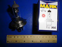Лампа галогенна   АКГ12-100+90 Н4 Р43t (Диалуч)