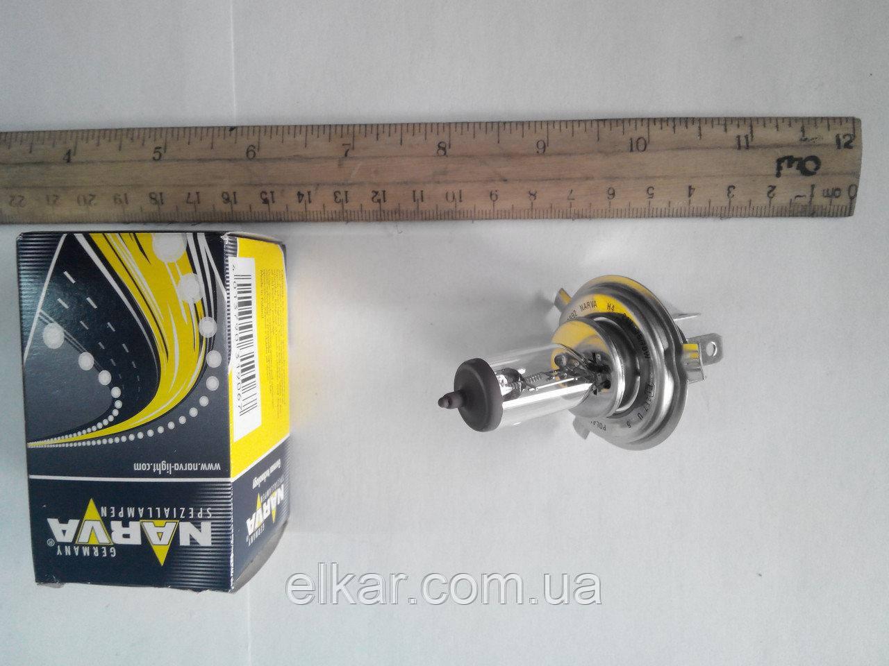 Лампа NARVA 48892 галогенна   АКГ24-75+70 Н4 Р43t