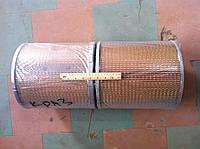 Елемент фільтруючий повітряний КрАЗ  (ФВ КРАЗ)  6510-1109080-01 L=584 D=300 КОМПЛЕКТ