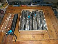 """Зонт черный полуавтомат """"Торнадо"""" (8 спиц), фото 1"""