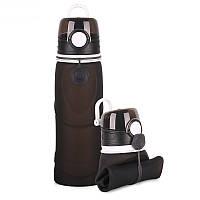 Складная спортивная бутылка S5 PRO черная