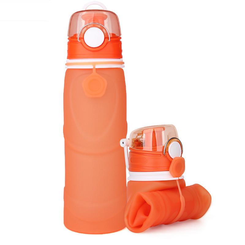 Складная спортивная бутылка для воды 750 мл. Оптом и в розницу