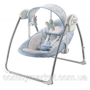 Кресло-качалка Baby Mix BY012S blue.