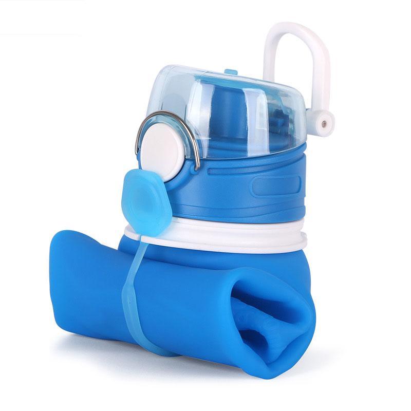 Складная спортивная бутылка для воды 750 мл.