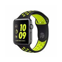 Ремешок Nike Sport Band OEM Black/Volt для Apple Watch 42mm Series 1/2/3