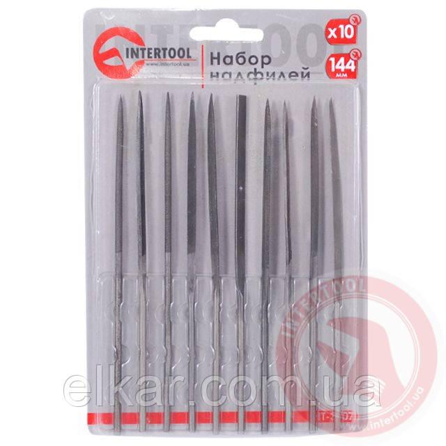 Набір надфілів 10 од. 140мм без ручок HT-3707
