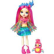 Кукла Энчантималс попугай Пикки и попугайчик Шинни / Enchantimals Peeki Parrot and Sheeny, фото 2