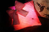 Декоративная гламурная подушка (Светящаяся)