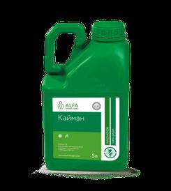 Гербицид Кайман, хизалофоп-п-этил 60 г/л + клетодим 120 г/л; подсолнечник, соя, свекла, картофель