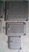 """Дверки  чугунные комплект """"Т"""" №2 (вес -15 кг), фото 1"""