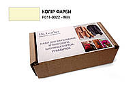 Набор для покраски мягкой кожи, кожаных  курток, перчаток Dr.Leather 40 мл Milk (f011-0022-n1)