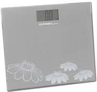 Весы напольные электронные для взвешивания человека до 150кг First FA-8015-2-GR