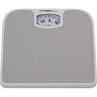 Механические напольные весы для взвешивания человека до 130кг First FA-8020-GR
