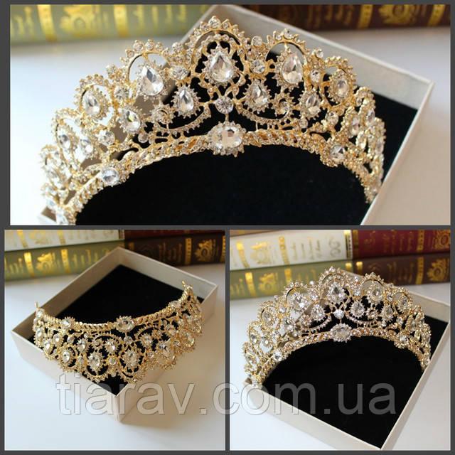 Все товары, будь то корона для волос, свадебная диадема, вечерняя тиара,  серьги , свадебный набор бижутерии, все они находится в наличии в городе  Запорожье, ... bd7e207770d