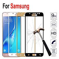 Защитное стекло с рамкой для Samsung Galaxy J5 J510H 2016