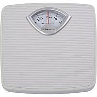 Механические напольные весы для взвешивания человека до 130 кг First FA-8004-1
