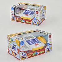 Кассовый аппарат 66055 на батарейке, сканер, карточка, калькулятор, в коробке