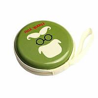 Чехол для наушников (зеленый)