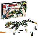 """Конструктор Ninjago Movie Lepin 06051 (Lego 70612) """"Механический Дракон Зеленого Ниндзя"""" 592 дет , фото 2"""