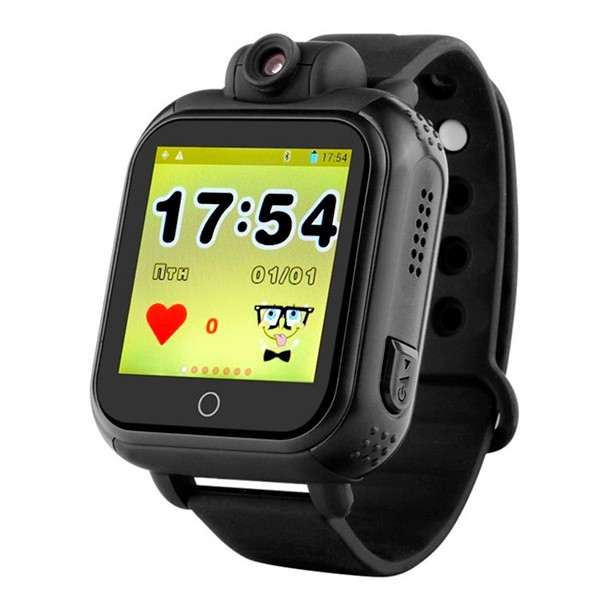 Смарт-годинник дитячий Smart Baby Watch Q200 (з камерою) Black (Smart Baby ca2ef7e09b15c