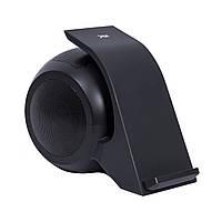 Беспроводная зарядка Bluetooth-колонка Gray Starling GSF-1 bb Черная