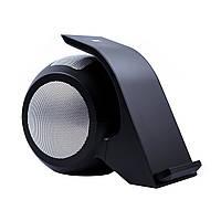 Беспроводная зарядка Bluetooth-колонка Gray Starling GSF-1 bs Черно-серебристая