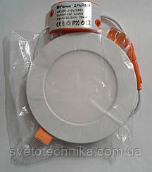 Светодиодная панель ECOSTRUM 6W 4100K (встроеный круг)
