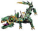 """Конструктор Ninjago Movie Lepin 06051 (Lego 70612) """"Механический Дракон Зеленого Ниндзя"""" 592 дет , фото 3"""