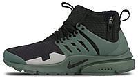 Мужские спортивные кроссовки Nike Air Presto Найк Аир Престо черные