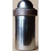 КМ-2 Футляр металлический для шприцов типа «Рекорд», круглый