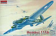 Сборная модель Roden Немецкий средний бомбардировщик Heinkel He-111A (RN021)