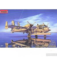 Сборная модель Roden Самолет Grumman OV-1D Mohawk (RN413)