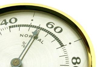 нормальная влажность воздуха 40-70%