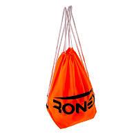 Сумка-рюкзак для спорт инвентаря Ronex  оранжевый/салатный