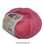 Alize, Baby Wool Рожевий 33