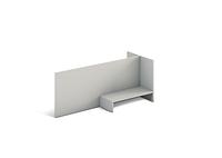 Надставка Сенс S6.09.09 Серый (MConcept-ТМ)