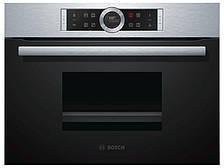 Духовой шкаф-пароварка Bosch CDG634BS1 (38 л, 1900 Вт)